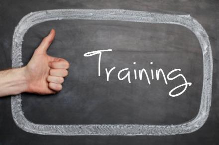 training blackboard