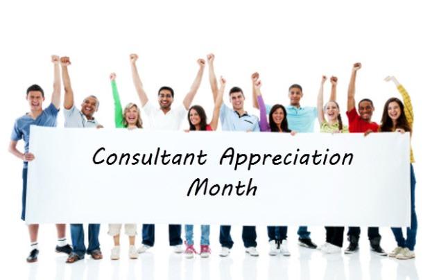 consultant appreciation month