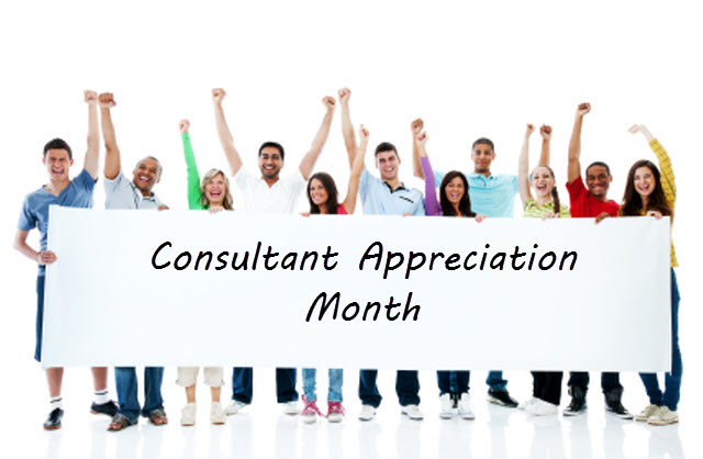 consultant appreciation month