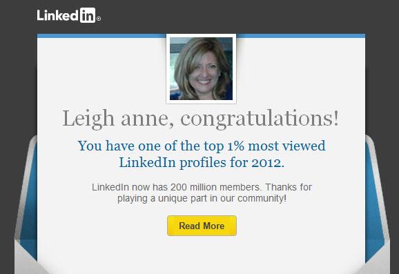 LinkedIn Honor